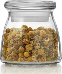 Vibe Mini Glass Jars with Lids, Set of 12