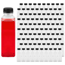 16 oz Plastic Bottles with Caps (100 Pack)