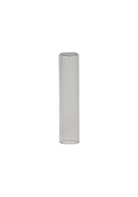 300uL Micro-Insert, Flat Bottom, Clear, 31x6mm for 9mm vials, 500/pk
