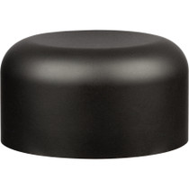Child Resistant Smooth Push Down & Turn Caps 29mm - Black Plastic - 504 Count