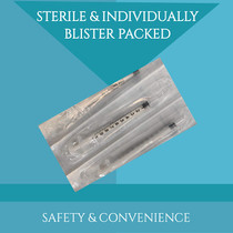 1ml Luer Slip Tip Syringe No Needle   100 Pack Disposable Sterile Individually Wrapped   Universal Use   Doctor and Vet Preferred (100 Piece)