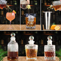 Bitters Bottle Set - Glass Vintage Bottle, Decorative Bottles with Zinc Alloy Dash Top, Great Bottle For Your Bitters (3)
