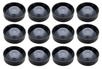 38-400  Neck Set of 2 Poly Seal Screw Caps 38mm (fits Most 1/2 & 1 Gallon jugs)