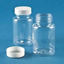 Disposable Sterile Sampling Vials, Screw-Top Caps, PC, 120 mL; 100/CS