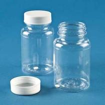 Disposable Sterile Sampling Vials, Screw-Top Caps, PC, 120 mL; 100/CS