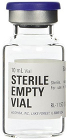 Sterile Empty Vial 10ml Hospira