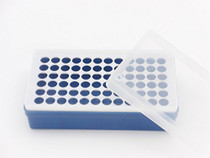 Plastic Rack for Micro Centrifuge Tubes (0.5ml to 2ml), Freezer Storage, 72 Positions