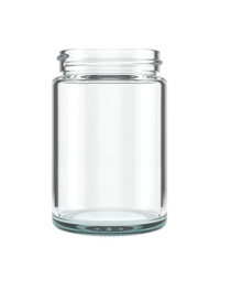 5oz -Straight Sided Clear Glass Jars 50mm - 100 Count with CRC Lids