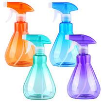 4 Pieces 500ml Mist Spray Bottles Empty Plastic Bottles Trigger Sprayer for Cleaning, Feeding, Gardening