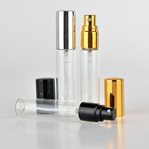 20 Pack Set 10ML Protable Refill Bulk Atomizer Spray Travel Perfume Bottle Hydrating Empty Bottle (Sliver Caps)