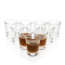 1.5 oz Shot Glasses Sets with Heavy Base, Clear Shot Glass (10 Pack)