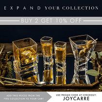 Carre 2-Piece Cocktail Glasses Set, 8 Ounce Martini Glasses