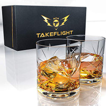 Whiskey Glass Set (Ornate Glasses)