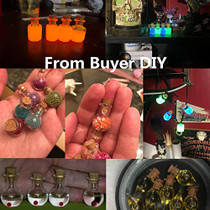 2ml Small Mini Glass Bottles Jars with Cork Stoppers.Wishing bottle drifting bottle wedding party DIY Etc. (A-20Pcs)