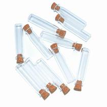 2ml Small Mini Glass Bottles Jars with Cork Stoppers.Wishing bottle drifting bottle wedding party DIY Etc. (H-20Pcs)