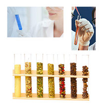 20PCS 40ml Glass Test Tubes with Cork Stoppers,20×180mm Round Bottom Test Tube for Scientific Tests,Candy,Bath Salt,Cultivated Plants