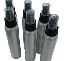 4oz Bullet-style Aluminum Fine Mist Spray / Atomizer Bottles: 6-pack