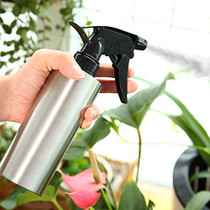 FUBARBAR Plant Mister, 10OZ Stainless Steel Spray Bottle for Plants, Reusable Misting Watering Can Indoor Outdoor Gardening, Mist Empty Sprayer for Cleaning Solutions Disinfection (Cylinder)