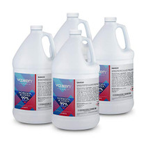 Isopropyl Alcohol 99% (IPA) - USP-NF Medical Grade Concentrated Rubbing Alcohol - Made in USA - 128 Fl Oz/Gallon (4 Pack)