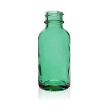 1 oz Caribbean Green Glass Bottle 20-400 Neck Finish