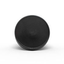 53-400 Black PP Child-Resistant Smooth Skirt Lid with PE Foam liner