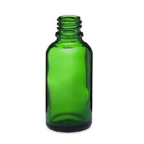 30ml Green Euro Dropper Bottle with 18-DIN neck finish