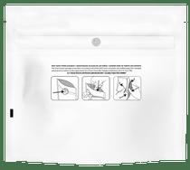 1000 White 6.02″ x 5.16″ Child Resistant Pouches