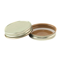70 CT Gold Button Hi-Heat Plastisol - Bag of 200