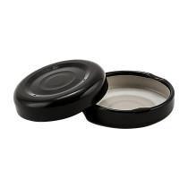 38-2000 Black Button Metal Lug Lid- Bag of 200