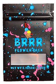 BRRR Bags Mylar Resealable Barrier Bag Packaging 25 Bags CREATIVELABZ843