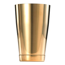 Barfly Cocktail Tin, Small 18 oz (532 ml), Gold