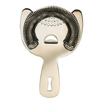 Barfly Heavy Duty Spring Bar Strainer, Stainless Steel