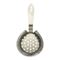 Barfly Classic Hawthorne Spring Bar Strainer, Stainless Steel