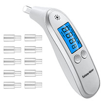Ketosis Breath Analyzer Portable Digital Ketone Breath Meter Tracing Ketones Status with Replaceable Mouthpieces