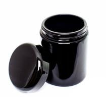 250 ML Ultra Violet Glass Screw Top Jar 250ml Ultraviolet Glass Jar - Airtight Smell-Proof Ultraviolet Storage Jar