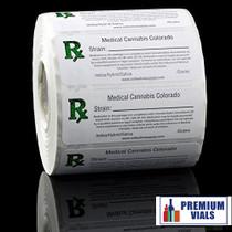 Medical Cannabis Strain Labels – PremiumVials