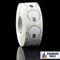 Generic Medical  Labels ROLL Compliant Sticker (ROUND)