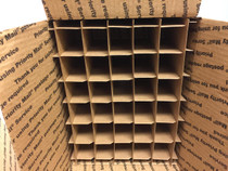 Only Partitions for USPS Medium Flat rate Box with 30 Cells (Fits 30 - 30ml or 60ml Bottles) - set of 80