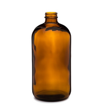 32 oz AMBER Glass Bottle - pack of 12