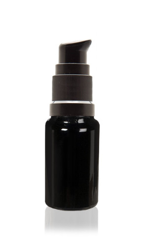5 ml (0.17 fl oz) Ultraviolet Glass Bottle w/ Treatment Pump