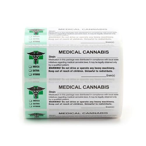 1000 pcs, Generic Medical  Labels ROLL Compliant Sticker (new design)