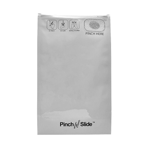 """Pinch N Slide ASTM Child Resistant Exit Bags - Fits 14g - 5"""" x 8.5"""" - 250 Count"""