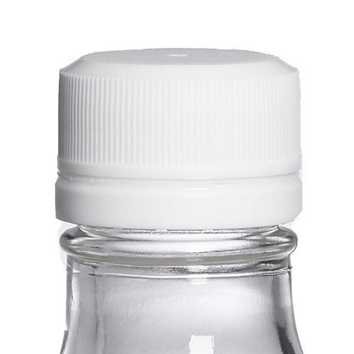 28-KERR White PP Plastic Tamper-Evident Screw Top Caps