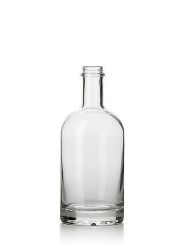 (Pk of 12) 750ml Glass Nordic Bottle 33/400