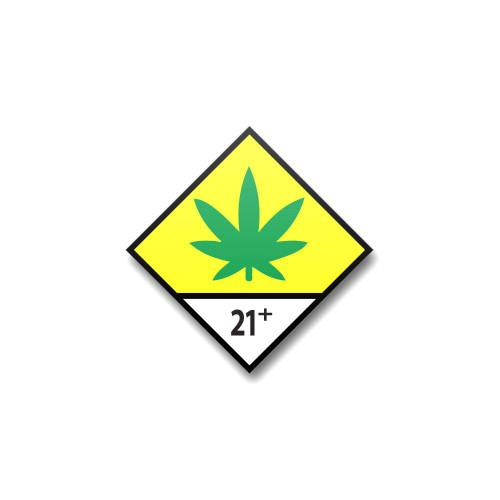 Washington Universal Symbol 21+ Labels - 1,000 Count