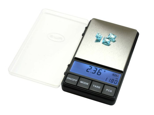 American Weigh Scale AC Pro Series Digital Pocket Weight Scale, Black, 200 x 0.01G