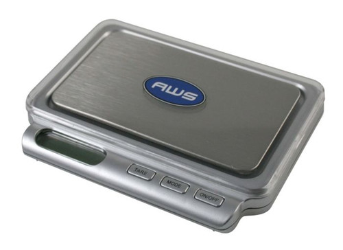 American Weigh Scales Card Series High Precision LCD Mini Pocket Weight Scale, Gray, 100 X 0.01 G