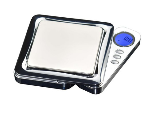 American Weigh Scales Blade Series Digital Precision Pocket Weight Scale, Silver, 100 x 0.1G