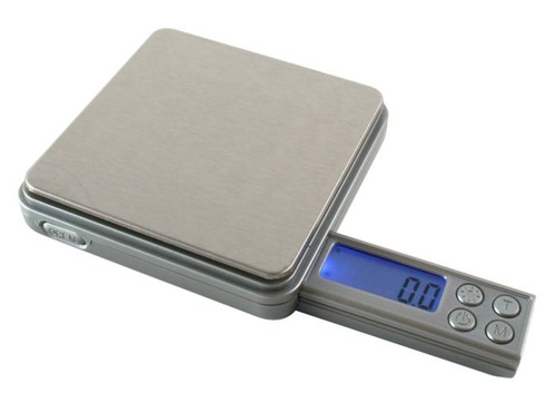 American Weigh Scales Blade V2 Series Digital Precision Pocket Weight Scale, Silver, 50g x 0.1G