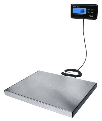 American Weigh Scale AWS Digital Heavy Duty Shipping Postal Scale, Stainless Steel
